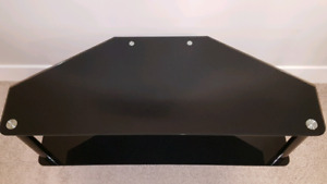 Modern Smoked Glass TV/Entertainment Centre Stand