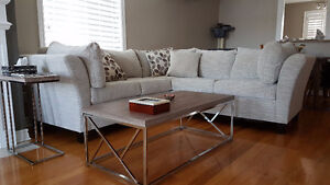 Barely used 2 months new Sectional Sofa $2,000+