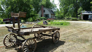 Buckboard Wagon Late 1800s Peterborough Peterborough Area image 2