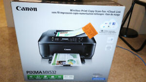 Canon PIXMA MX532 Wireless All-in-One Business Inkjet Printer