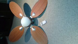 REMOTE CONTROL CEILING FAN WITH LIGHT