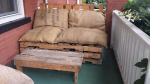 Hand Made Patio Furniture! -price reduced-