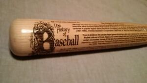 50% OFF  History of Baseball signed bat All Legends- Bobblehead