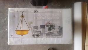 A brand new chandelier in box