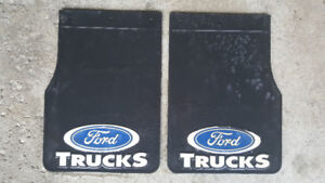 """Ford Truck Mud Flaps. Brand new. 14""""Tx10""""W.  20$ F150 f250 f350"""