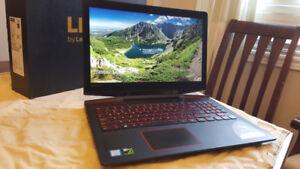 "Lenovo Legion Y720 15"" i7 GTX 1060 256G SSD+1TB HD Gaming Laptop"