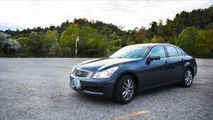 low milage and good condition!!2007 Infiniti G35X Luxury Sedan