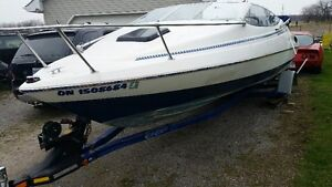 19 ft bayliner trade for classic car or bike truck