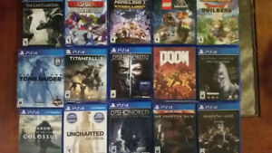 PS4 Lot of Games