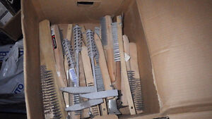 New Wire Brushes and Chipping Hammers