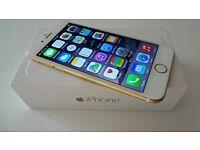 Iphone 6 gold 128gb.