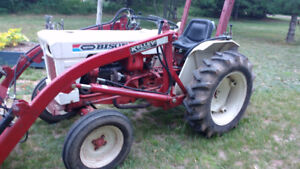 tractor with loader 27hp gas