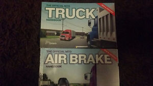 Drivers books. Truck, Air break, Boat, and Motorcycle