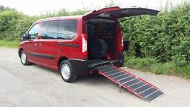 2011 Peugeot Expert Tepee Diesel Wheelchair Disabled Accessible Vehicle Ramp