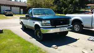 1995 f150 4x4 mechanic special or parts truck