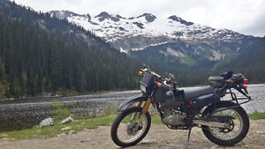 Suzuki DR200 dual sport - on/off road