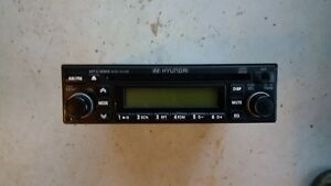 Hyundai car Stereo Cd and radio