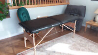 FOLDING MASSAGE TABLE - $80.00 FIRM
