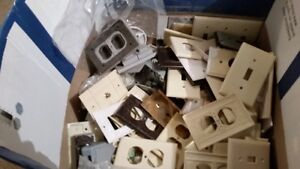 collection of used electrical