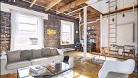 LOFT SUBLET in Old Montreal  for October (all included)