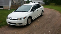 2011 Honda Civic Sedan-46000 kms!!!!!HONDA WARRANTY!!!
