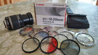 // Canon EF-S 18 - 200 mm f/3.5 - 5.6 IS // laval # NEGOTIABLE #