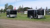 NEW 2015 6'X12'X6'high MIRAGE ENCLOSED TRAILERS