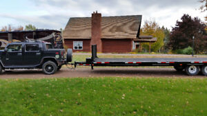 Tri-Axle Blackhawk Trailer with electric brakes