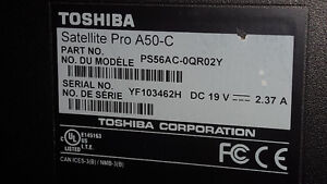 Toshiba Satellite Pro A50 - excellent condition!