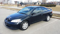2005 Honda Civic only 133,274km Coupe (2 door)