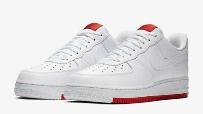 Nike Air Force 1 07 White Habanero Red Sole Ao2409 101 Men S Size 11