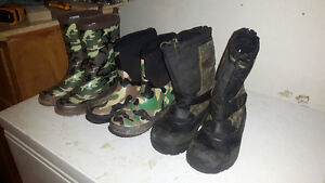 Size 13 youth boys boots