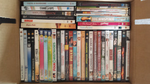 DVD Library - PRICE TO SELL!
