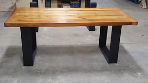 2 custom reclaimed tables