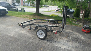 4'x6' utility trailer - 2013 with ownership