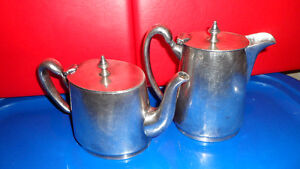 Vintage CPR Tea and Cream Silver Set $100. Prince George British Columbia image 2
