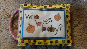 who loves baby photo album