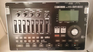 Boss BR-800 digital recorder like NEW