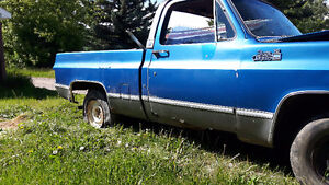 79 chev shortbox project