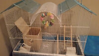 Bird cage for budgies, finches