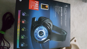MINT CONDITION afterglow gaming headset! Want to sell ASAP!