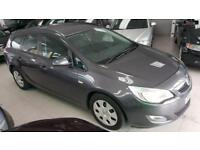 2011 VAUXHALL ASTRA EXCLUSIV CDTI ECOFLEX S-S Grey Manual Diesel