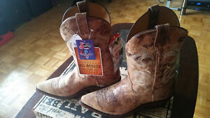 Justin Boots Men's Bent Rail Narrow Square Toe Boots Size11EE