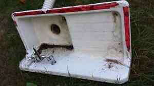 Antique bathroom sink porcelain over cast. Peterborough Peterborough Area image 6
