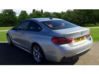 2016 BMW 4 Series 420i M Sport 2dr (Professional Automatic Petrol Coupe