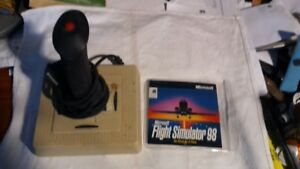 Vintage Flight Stick controller with PS2 connector for Flight Si