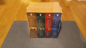 A Song of Ice and Fire, Game of Thrones, 4 Book Set, Unopened