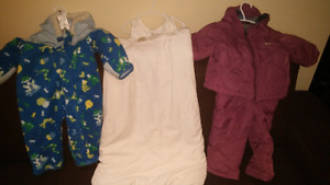 Baby boys and baby girls jackets for winter