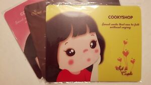 NEW 3x Anime Cartoon Lovely Soft Anti-slip Cute Mouse Pad Mat
