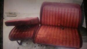 Chev Gmc 60/40 Seat Fits 1988-98 Burgundy A1